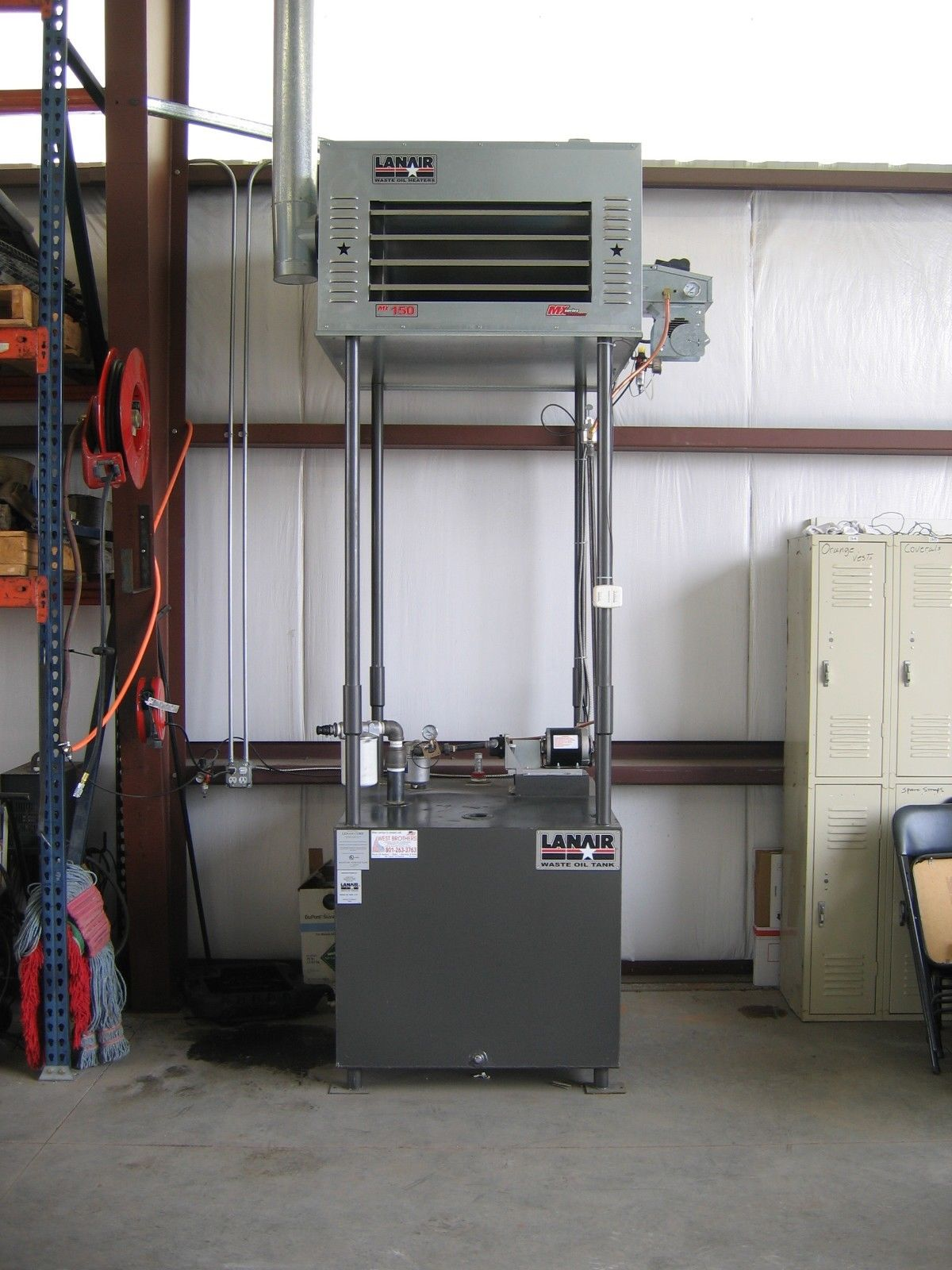 Lanair Mx150 With Chimney Package C West Brothers