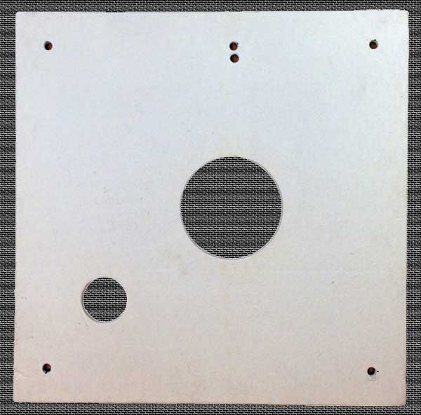 Combustion Chamber Burner Door Insulation Refractory Board