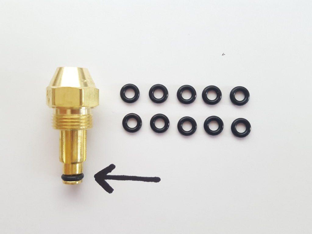 Delavan Siphon Nozzle O Ring 10 Pack 123399 West